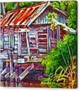 The Camp Bayou Canvas Print