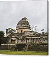 The Castillo In Chichen Itza Canvas Print