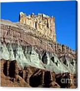 The Castle Capitol Reef National Park Utah Canvas Print
