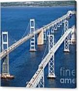 The Chesapeake Bay Bridge Canvas Print