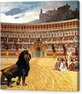 The Christian Martyrs' Last Prayer Canvas Print