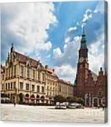 The City Hall Wroclaw Poland Canvas Print