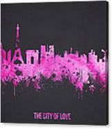 The City Of Love Canvas Print