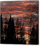 The Close Of Day Canvas Print