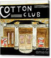 The Cotton Club Canvas Print