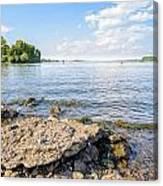 The Dnieper River In Kiev Canvas Print