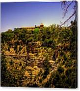 The El Tovar Hotel At The Grand Canyon Canvas Print
