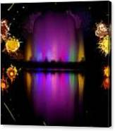 The Electric Fountain Canvas Print