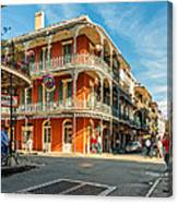 The French Quarter Canvas Print