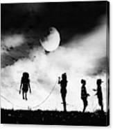 The Game High Jump Canvas Print