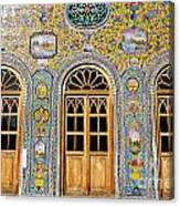 The Golestan Palace In Tehran Iran Canvas Print