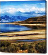 The Great Salt Lake Canvas Print