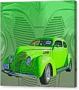 The Green Machine Canvas Print