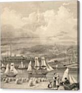 The Haematite Ironworks, Barrow Canvas Print