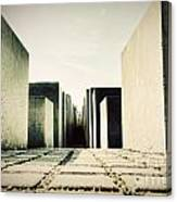The Holocaust Memorial Berlin Germany Canvas Print