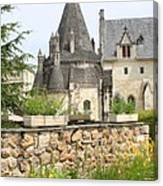 The Kitchenbuilding Of Abbey Fontevraud Canvas Print