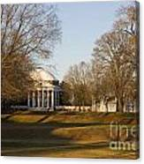 The Lawn University Of Virginia Canvas Print