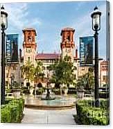 The Lightner Museum Formerly The Hotel Alcazar St. Augustine Florida Canvas Print