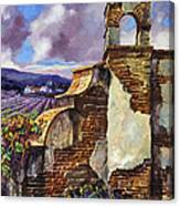 The Mission Vineyard Canvas Print