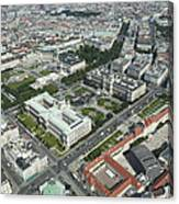 The Museums Area And Hofburg Palace Canvas Print