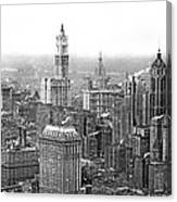 The Ny Financial District Canvas Print