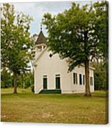 The Old Country Church Canvas Print