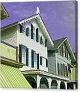 The Painted Ladies Of Cape May Canvas Print