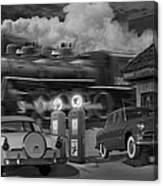 The Pumps Canvas Print