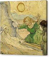 The Raising Of Lazarus Canvas Print