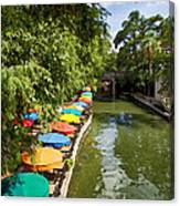 The River Walk Canvas Print