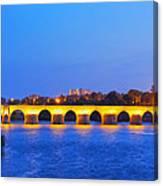 The Roman Bridge In Cordoba Canvas Print