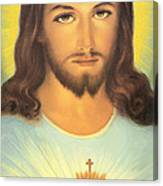 The Sacred Heart Of Jesus Canvas Print