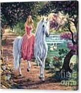 The Secret Trail Canvas Print