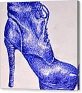 The Shoe Canvas Print