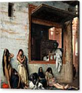 The Slave Market Canvas Print