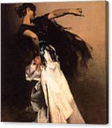 The Spanish Dancer Canvas Print