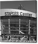 The Staples Center Canvas Print