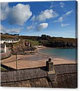 The Strand Inn And Dunmore Strand Canvas Print