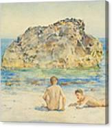 The Sunbathers Canvas Print