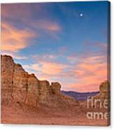 The Sunrise Of Death Valley Canvas Print