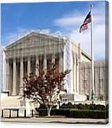 The Supreme Court Facade Canvas Print