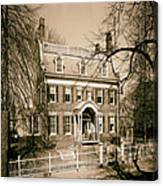 The Taft House - Brown University 1958 Canvas Print