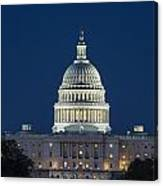 The United States Capitol Building Canvas Print