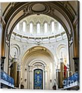 The United States Naval Academy Chapel Canvas Print