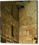 The Wailing Wall Canvas Print