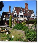 The Weavers Southborough Kent Canvas Print