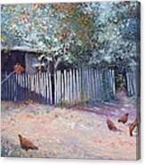 The White Picket Fence Canvas Print