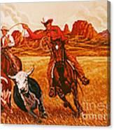 The Wranglers Canvas Print