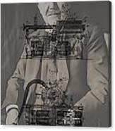 Thomas Edison's Phonograph Canvas Print