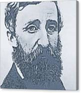 Thoreau Canvas Print